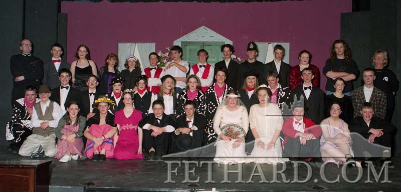 Fethard Patrician Presentation Secondary School Show 'Me and My Girl' December 1998