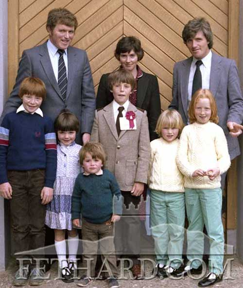 Morrissey family at Confirmation Day in Fethard 1982