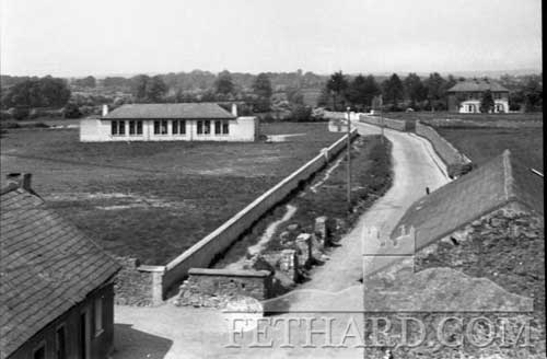 The Rocklow Road c.1950 when the Patrician Brothers Secondary School was built and the road widened.