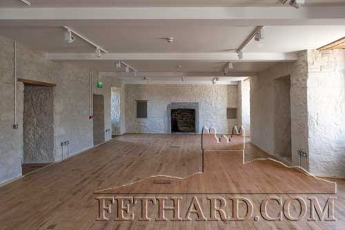 First floor interior of Fethard Tholsel (Town Hall)