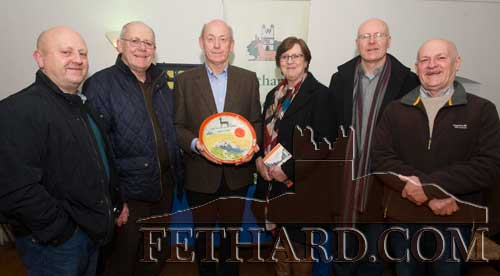 Winning author, John Fogarty, photographed at the presentation of the  'Tipperariana Book of the Year for 2015' in the Abymill Theatre, Fethard, with his brothers and sister L to R: Bernard, Jim, John, Anna, Joseph and Gerry.