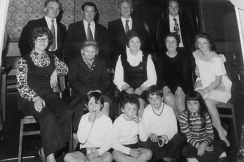 Catherine Noonan posted this photograph taken at a Fethard London Reunion held at the Irish Centre in Camden Town in the 1960s
