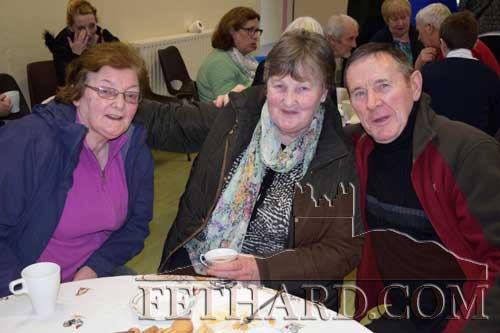 Photographed at the Grandparents' Day at Holy Trinity National School are L to R: Ann Daly, Maura Ryan and Joe Keane.