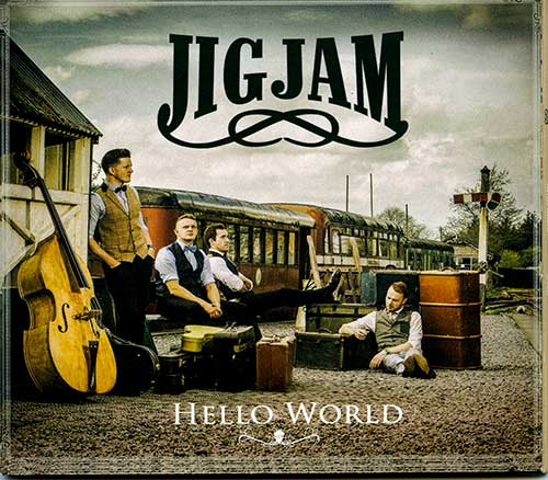 JigJam, including local musician Gavin Strappe, who will play for the Harvest Dance on October 30, and will launch their latest CD on November 19, in the Abymill Theatre.