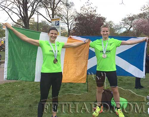 Congratulations to Niamh Browne and her brother-in-law John Paul Cooney who completed the Paris Marathon and in the process raised €2,000 for Our Lady's Hospital for Sick Children, Crumlin, and the Irish Guide Dogs for the Blind. Still time to donate at: www.idonate.ie/niamhandjp
