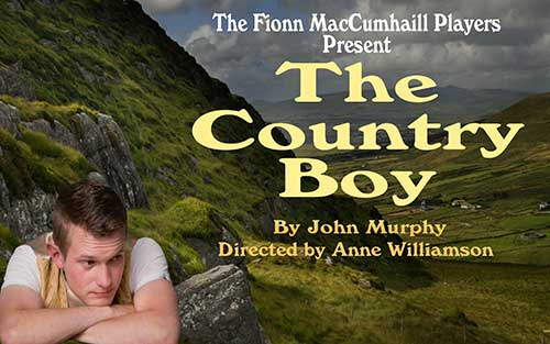 The Fionn MacCumhaill players are staging their upcoming production The Country Boy by John Murphy in The Source Theatre, Thurles, on Saturday, March 5, at 8pm. For bookings Tel: (0504) 90204. The play will also be staged in Mullinahone Community Hall on Friday, March 11, at 8pm, booking 086 0834208.  Clonacody House, Fethard, will host two intimate performances with food served, on Tuesday, March 15, and Wednesday, March 16. Early booking advised, as seats are limited. Tel: 086 0834208. A great play and a good night out . . . don't miss it!