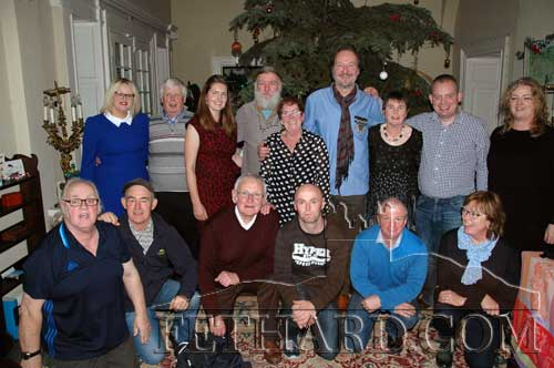 Group photographed at the Fethard Athletic Club's Christmas Party at Clonacody House