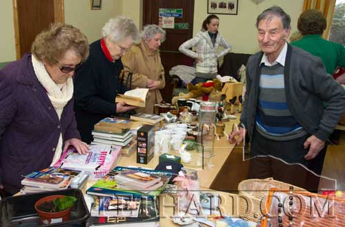 Des Martin, Fethard Day Care Centre, looking after the shoppers at their Fundraising Bazaar in 2011. This year's Christmas Bazaar takes place in the Tirry Community Centre on next Thursday, November 30, at 11am.