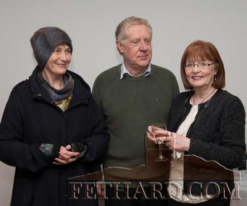 Helping to organise this year's Tipperariana Book Fair which takes place in Fethard Ballroom from 2pm to 6pm on Sunday, February 12, are L to R: Dóirín Saurus, John Cooney and Mary Hanrahan.