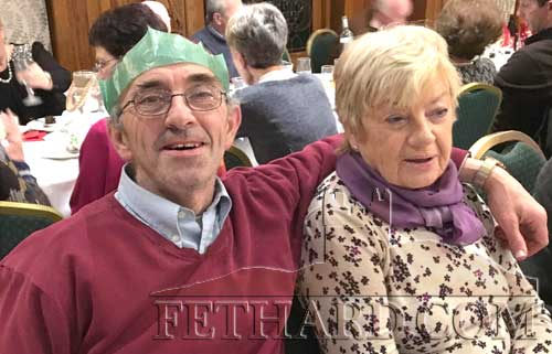 Vincent Cummins and Rita Kane at Fethard Bridge Club Christmas Party, Raheen House.