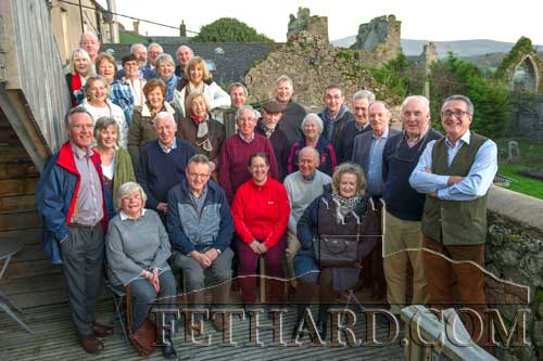 Members of the Tipperary Association, photographed on a visit to medieval Fethard and a tour of Fethard Horse Country Experience, organised by Liam Myles, President of Tipperary Association Dublin.
