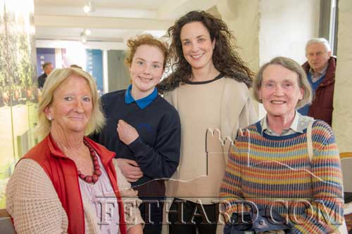 Photographed at the poetry readings held in the new Stable Café, situated downstairs at Fethard Horse Country Experience to celebrate 'World Poetry Day' on Thursday, April 27, are L to R: Marian Gilpin, Saoirse Hanrahan, Lisa Hanrahan and Ann O'Donnell.
