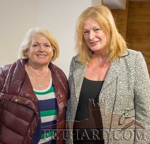 Photographed at the poetry readings held in the new Stable Café, situated downstairs at Fethard Horse Country Experience to celebrate 'World Poetry Day' on Thursday, April 27, are L to R: Chris Nevin and Marie Hanrahan