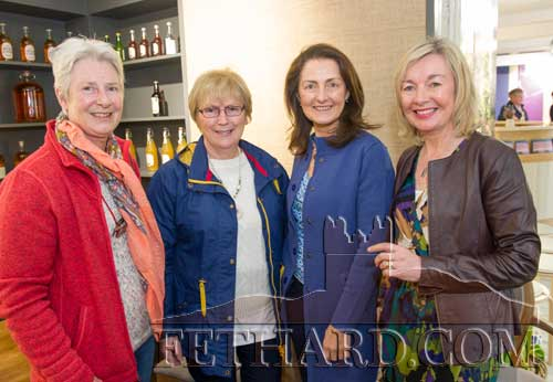 Photographed at the poetry readings held in the new Stable Café, situated downstairs at Fethard Horse Country Experience to celebrate 'World Poetry Day' on Thursday, April 27, are L to R: Maureen Maher, Patricia Treacy, Cecile Purcell and Kate Corcoran.