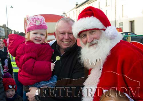 Santa Arriving in Fethard on Friday, December 8