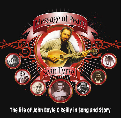 Sean Tyrrell who will perform his 'Message of Peace' show; in the Abymill on Saturday August 19.