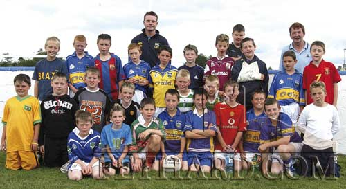 Senior Boys Group at Fethard GAA Summer Camp 2005