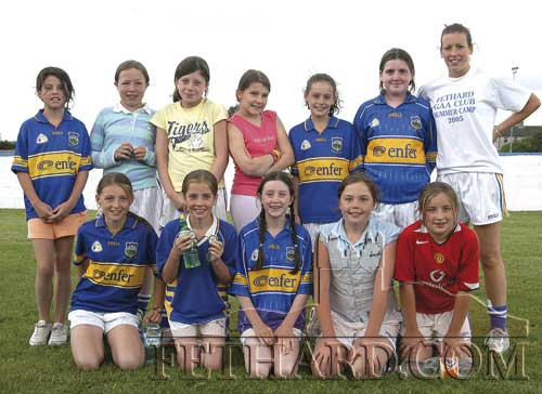 Senior Girls Group at Fethard Summer Camp
