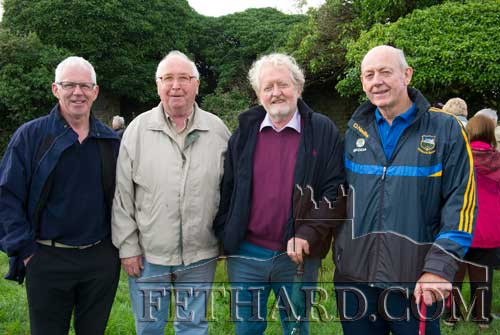 Photographed at the Cemetery Mass at Templemartin Church are L to R: Bobby Phelan, Tom Murray, Terry Cunningham and John Fogarty
