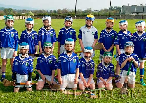 Fethard & Killusty U11 Community Games Hurling team that lost by just 1 point to Killenaule-Moyglass on Monday May 1.  After a well matched and most exciting game the final score was Killenaule 2–4 to Fethard's 2-3. Back L to R:  Rory O'Mahony, Zach Smith, Sean McEvoy, Charlie Walsh, Ben Allen, Danny Hayes, T.J. Keane, Richard Murphy. Front L to R: Criostoir Sheehy, Danny Shelly, Gavin Neville, Sami Laaksonen, Sam Coen and Daniel Barry.