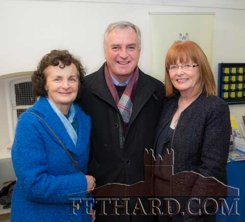 Photographed at the presentation of the Tipperariana Book of the Year award for 2017, in the Abymill Theatre on January 26, are L to R: Mary Darmody (Local Studies Department, Tipperary County Library), Fr. Liam Everard P.P. (Fethard & Killusty Parish) and Mary Hanrahan (Fethard Historical Society).