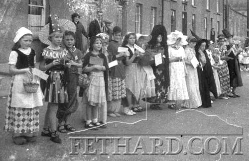 Fethard Carnival Fancy Dress Group on The Square