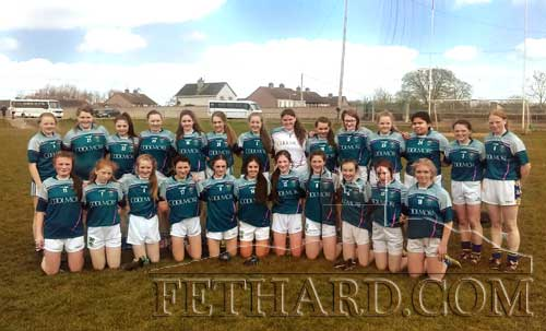 Fethard Patrician Presentation Secondary School ladies football team who had a great 4-18 to 2-4 win over Scoil Mhuire, Newcastle West, Co. Limerick, in the Munster Senior Ladies Football semifinal