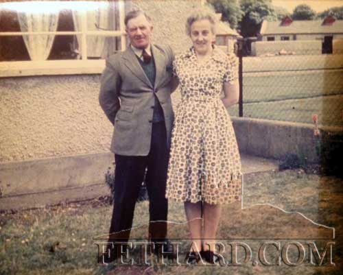 Pat Marshall posted this photograph of his parents Michael O'Meara and Alice (née Hartigan) of Grawn.