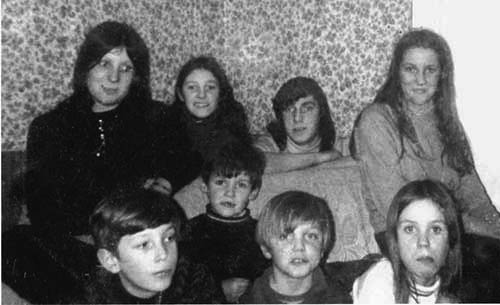 Tommy Sheehan, posted this early photograph of his brothers and sisters taken at their home in St. Patrick's Place.