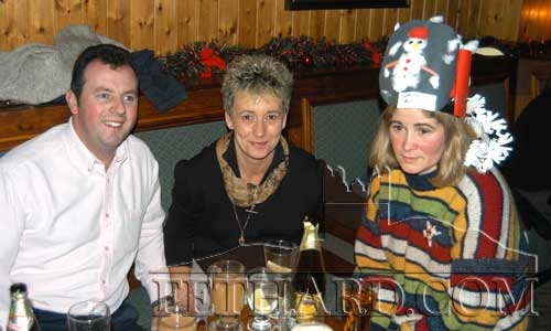 L to R: Andy O'Donovan, Sheila O'Donovan and Helena O'Shea.