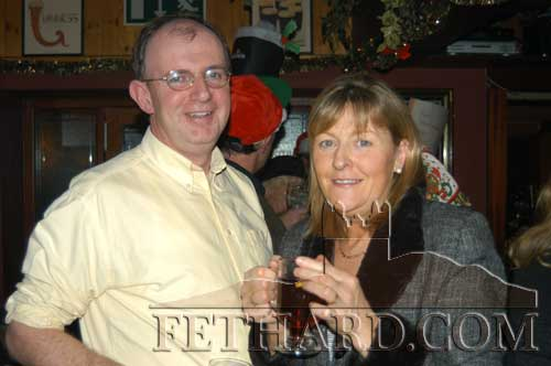 Michael Heverin and his wife Ann (Shortall)