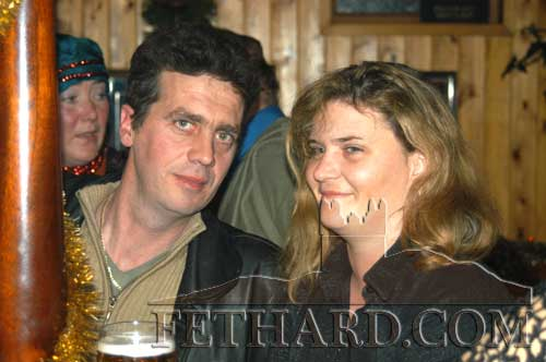 Mark Tynan and his wife Liz (Thompson)