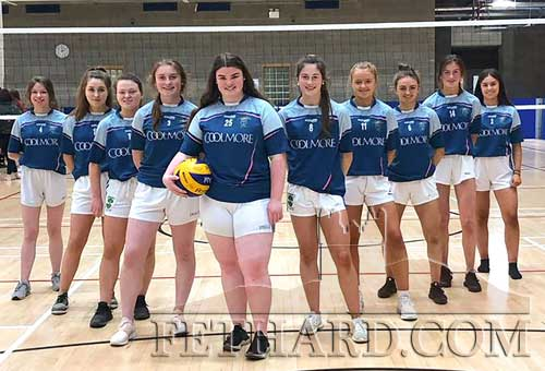 Patrician Presentation Secondary School senior girls' volleyball team who qualified for the All-Ireland final which will will be played in UCD this coming Thursday, December 12. Best of Luck girls!