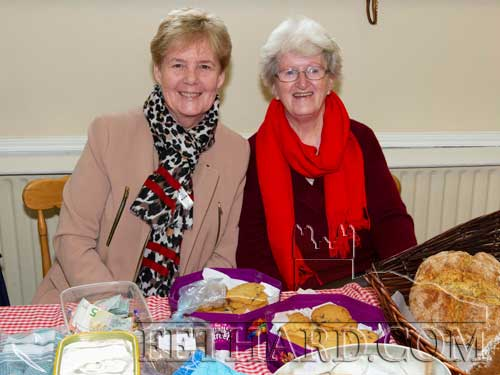 Photographed at Christmas Bazaar in aid of Fethard Day Care Centre are L to R: Eleanor Roche and Mary Fitzgerald.