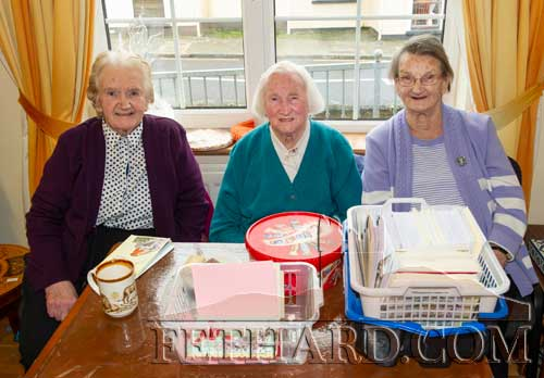 Photographed at Christmas Bazaar in aid of Fethard Day Care Centre are L to R: Peg O'Reilly, Kitty O'Sullivan and Eileen Ryan.