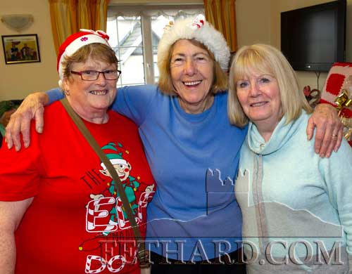Photographed at Christmas Bazaar in aid of Fethard Day Care Centre are L to R: Hanna McGarry, Thelma Griffith and Joan O'Donohoe