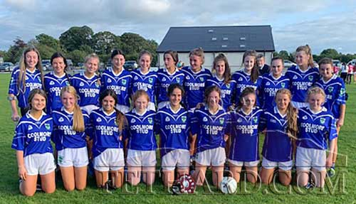 Well Done to Fethard U17 Ladies Football Team on winning the County League Final on Sunday, August 25, in Littleton.