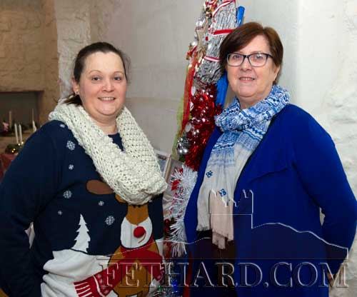 Photographed at the Craft Fair at FHC Experience are L to R: Jackie Leigh and Anna Condon.