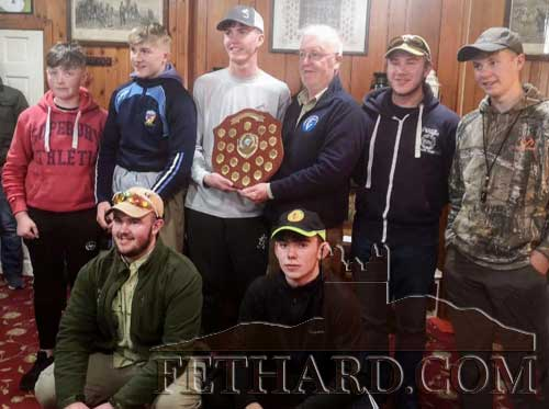 Munster also won the provincial title with seven anglers representing the province, Back L to R: Eanna O' Leary, Luke O'Donoghue, Conor Cagney, Eugene Nolan (Tuam Anglers), Chris Kelleher, Sean Ronayne. Front L to R: Aron McCann and Robert Hackett.