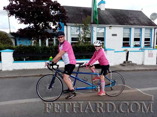The Fethard Pedallers would like to sincerely thank everyone involved in making the Pink Cycle such a great success