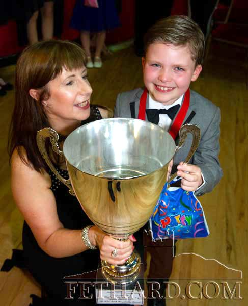 Marina Mullins presenting the 'Dancer of the Night' award to Evan Prior at the 2018 event held in Fethard Ballroom. This years 'Strictly Come Dancing' takes place on Monday, May 27,  2019, at 7.30pm