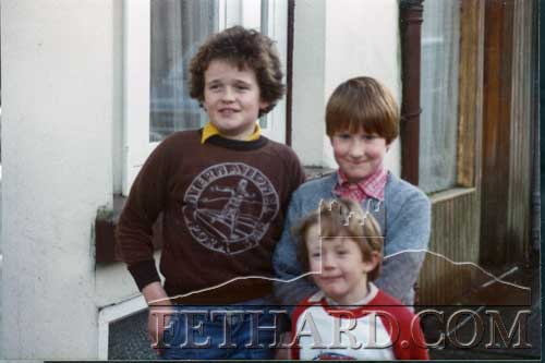 John Stokes, Nicky Stokes and David Purcell photographed in the 1980s