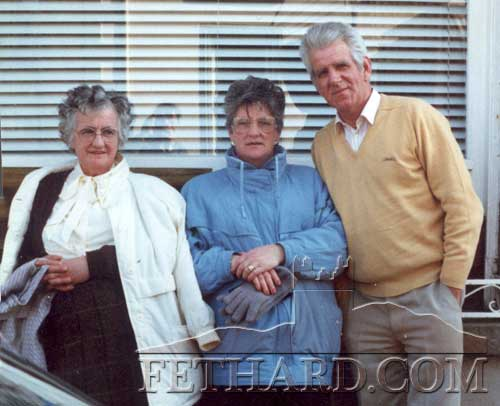 L to R: Peggy Kenrick, Margaret Coffey and Percy O'Flynn.