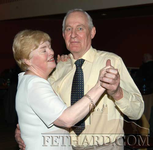 Pat Burke and Tilly Carr enjoying a dance at Fethard Ballroom's 12th Anniversary Dance on St. Patrick's night, March 17, 2005