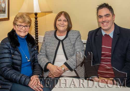 Photographed at the presentation are L to R: Margaret Walsh, Margaret O'Donnell and Ian O'Connor.