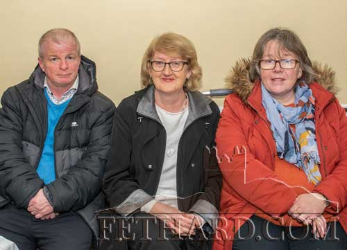 Photographed at the presentation are L to R: Brian Sheehy, Gemma Burke and Edwina Newport.
