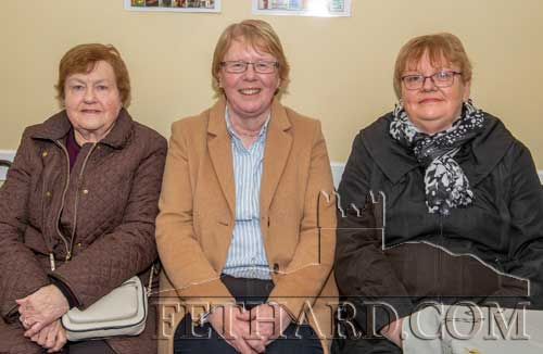 Photographed at the presentation are L to R: Anne Gleeson, Kathleen Maher, Josie Fitzgerald.