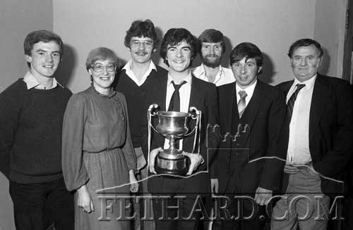 Anner Kickhams NACA Trophy Presentation January 1983.