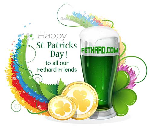 Happy St. Patrick's Day to all our readers