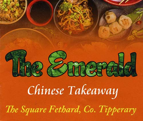 The Emerald Chinese Takeaway Opening Hours